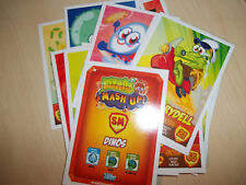 MOSHI MONSTERS MASH UP  series 2  Pick 4 CARDS  NEW  MINT