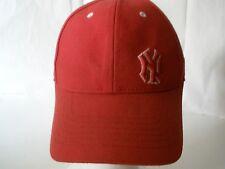 New York Yankess Baseball Hat Cap Red White Emboridery