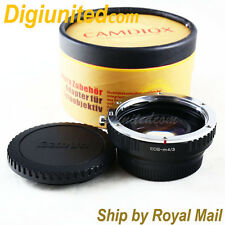 Camdiox Focal Reducer Speed Booster Canon EOS EF mount lens to Micro 4/3 Adapter