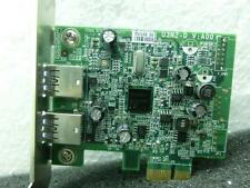 Original DELL U3N2-D 2-Port USB 3.0 PCI-Express Controller Card