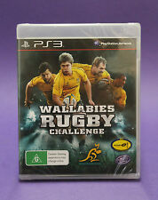 WALLABIES RUGBY CHALLENGE PS3 ⭐⭐⭐AUSSIE SELLER⭐⭐⭐ NEW & FACTORY SEALED~FAST POST