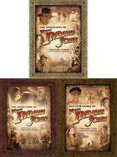 The Adventures of Young Indiana Jones 1-3 DVD Set Series TV Show Collection Lot