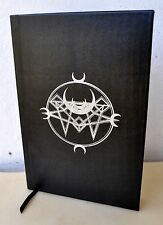 Book of Smokeless Fire S Ben Qayin Deluxe Leather LE1/20 Satanic Grimoire Voltec