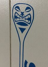 Paddle Boarding Tiki Paddle Stucker Decal Board Surfing Yoga Fitness Beach