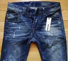 NEW Diesel Jeans Darron 27x30 NWT Regular Slim-Tapered Made in ITALY was $348.00