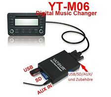 USB adaptador SD mp3 cambiador de CD 5+7 pin Toyota Avensis 1997-2003