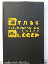 SOVIET UNION Automobile Atlas USSR CCCP Russia 1984 AUTO-ATLAS 178 pgs Russland