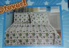 WHATEVER DAVID & GOLIATH PEAS ON EARTH 3PC TWIN SHEET SET NEW!