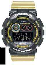*NEW* CASIO MENS G SHOCK GOLD RED BLACK WORLD TIME WATCH GD120CS-1D  RRP£129
