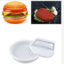New Plastic Hamburger Meat Beef Press Patty Maker Kitchen Mold Mould Tool