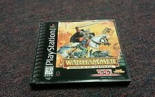 Warhammer: Shadow of the Horned Rat  (PlayStation, 1996) Complete