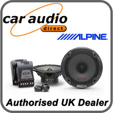"ALPINE SPG-17CS 6.5"" 16.5cm Car Audio Component 2Way Speakers Set 280W Tweeters"