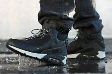 Nike Air Max 90 Sneakerboot Black Grey WaterProof Mens Shoes Sz 8 684714-001