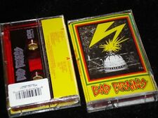 BAD BRAINS s/t Bad Brains Album - Capitol - RED Cassette Tape - rasta punk NEW