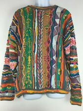 Vintage Coogi Pullover Sweater Multi-color Size XL Made In Australia