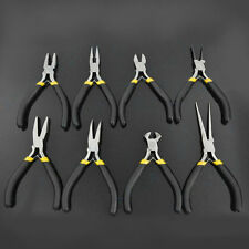 New Jewellery Making Beading Mini Pliers Tools Kit Set Round Flat Long Nose KL