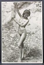 Erotic Nude Female Photo Erotismo Vintage FKK Erotik Foto Nackte Frau (I-5123
