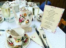 Lovely Vintage China Tea Sets For Hire SE London & Kent Tea For 4 (or More)