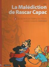 Hergé La malédiction de Rascar Capac n°2 Les secrets du Temple du Soleil P Goddi