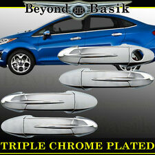 2011-2016 FORD FIESTA Chrome Door Handle Covers WithOut Intelligent Key Overlay