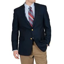 NWT Tommy Hilfiger Navy Worsted Wool Paine Two button Sportcoat Blazer Jacket 42