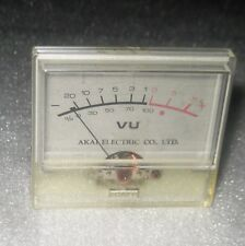 p. AKAI CS-702D  Cassette desk Parts - VU meter Tested