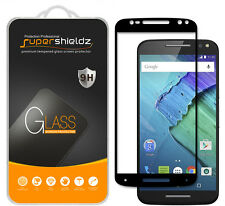 Supershieldz Moto X Pure Edition Full Cover Tempered Glass Screen Protector
