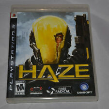 Used HAZE for Sony PlayStation 3 PS3 (FAST SHIPPING!) Play Station Three