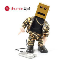 DANCING Moving ROBOT SPEAKER Laptop MP3 Music LED iPhone 5 6 Samsung iPad Tablet