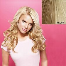 """Jessica Simpson Hair Do 23"""" Wavy Clip on hair Extensions Ken Paves"""