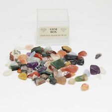 40 g Loose Mixed Gemstone Chips - NO HOLE - Jewellery Making