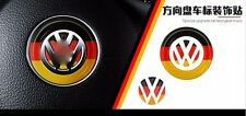 AUTO ACCESSORIES Car Steering Wheel Center DECORATION Germany Flag Decal For VW