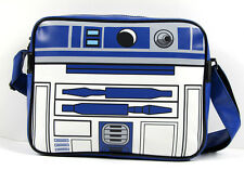 Movie Star Wars R2-D2 R2 D2 Logo Multi Leather Sports Messenger Shoulder Bag