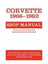 Corvette, 1966-1982 : Shop Manual by Schechter (1986, Paperback, Revised)