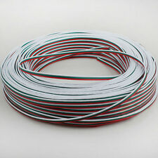 1M/2M/3M/4M/5M/10M/20M/50M 3Pin Extension Cable Connector 22AWG Wire Cord For WS