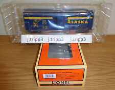 LIONEL 6-17740 ALASKA RAILROAD ARR ROUND-ROOF BOXCAR O SCALE TOY TRAIN FREIGHT
