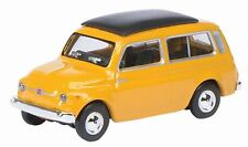 Schuco 26150 Fiat 500 Estate Station Wagon Yellow 1/87 H0 Scale New 1st Class