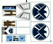 LEGO 6869 - Super Heroes - Quinjet Aerial Battle - STICKER SHEET