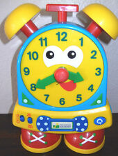 SPANISH/ENGLISH The Learning Journey Telly The Teaching Time Clock-Primary Color