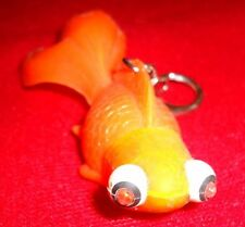 Gold Fish Key Chain Bubbling Sounds & Light Up Eyes