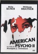 cofanetto+DVD Nuovo sigillato film AMERICAN PSYCHO II -