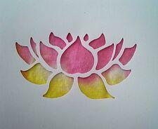 Airbrush Tattoo Stencils *** LOTUS FLOWER BEAUTIFUL ***NEW