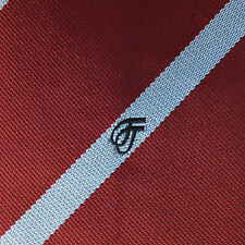 Sigma corporate tie Diagonal stripes and double sigma logo Ernex Vintage 1980s
