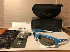 NEW Oakley - Custom Racing Jacket - Sunglasses, Glacier / Black Iridium