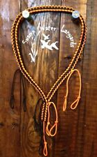 Duck / Goose / Predator Call Paracord Lanyard Hunter Orange/Black