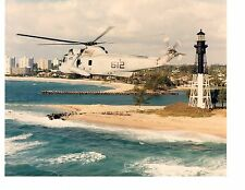 Sikorsky SH3H Sea King HS9 Navy Helicopter Photograph 8x10 Jacksonville FL