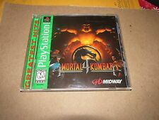 Mortal Kombat 4 playstation 1 complete cib ps1 ps2 ps3 rare oop htf midway ps4