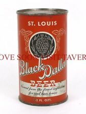 Rare Clean 1930s St Louis Black Dallas OI IRTP flat top can Tavern Trove