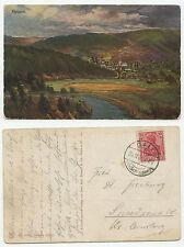 09612 - Hausen, Eifel - Künstlerpostkarte -Stempel Call Kr. Schlaiden 25.11.1915