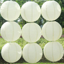 New 6 inch 5pcs White Color Chinese Paper Lanterns Wedding Party Decoration